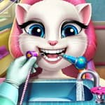 Angela Real DentistTalking Tom