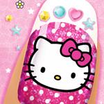 Hello Kitty Nail Salon Game