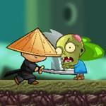 Ninja Kid vs Zombies Game