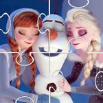 Olafs Frozen Adventure Jigsaw Game