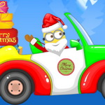Santa Minion Christmas Car