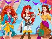 pirate princess halloween dress up